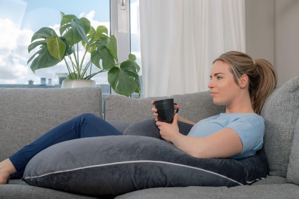 Comfortabel zwangerschapskussen